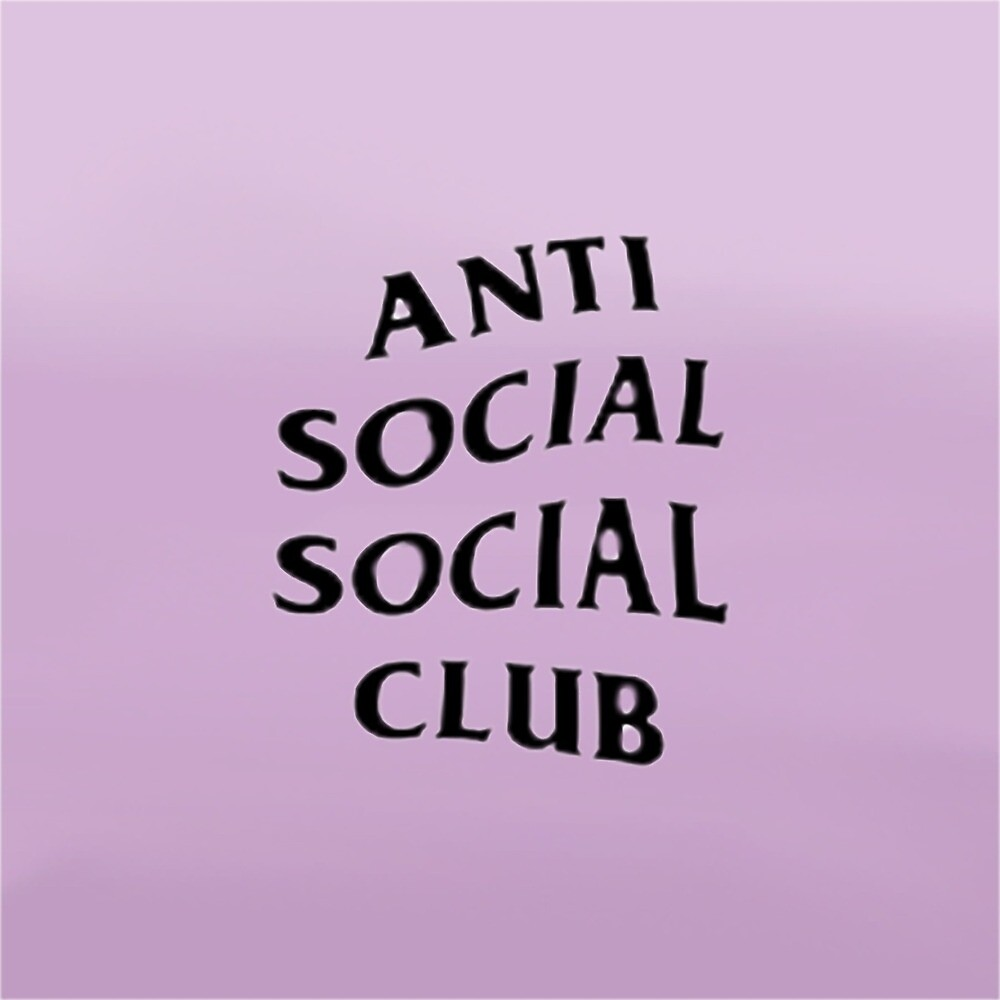 Quot Anti Social Social Club Quot By Planetkidpj Redbubble
