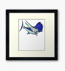 Sport Fishing Framed Print