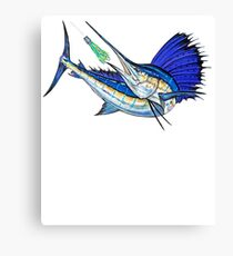 Sport Fishing Canvas Print