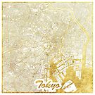 Tokio Karte Gold von HubertRoguski