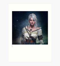 The Witcher 3: Ciri  Art Print