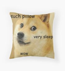 such pillow very sleep Throw Pillow