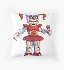 baby fnaf throw pillows redbubble