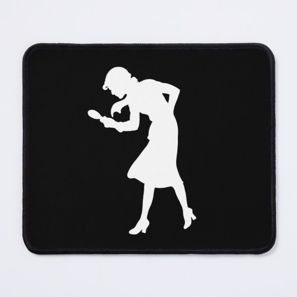 Nancy Drew classic silhouette Mouse Pad