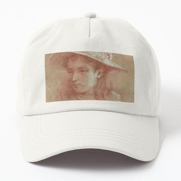 Portrait d'une jeune fille (1) Casquette Dad Hat
