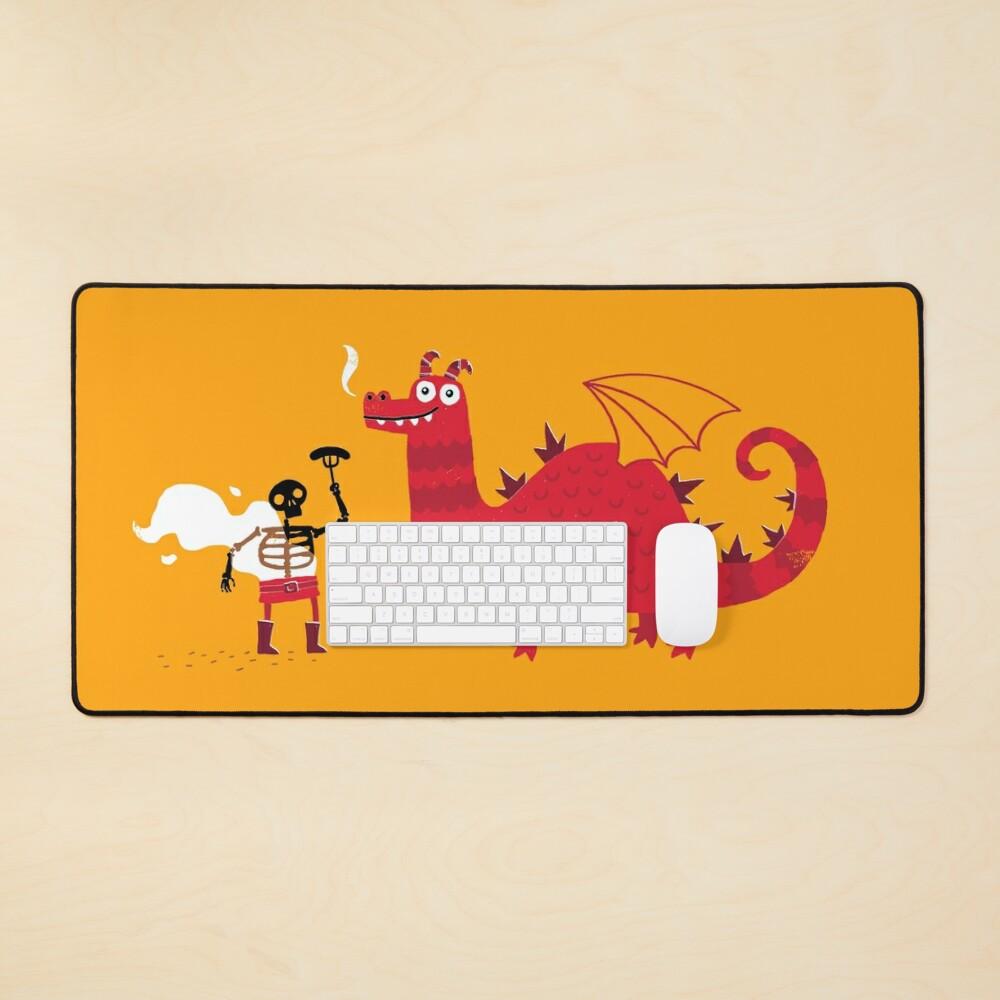 Dragon BBQ Mouse Pad