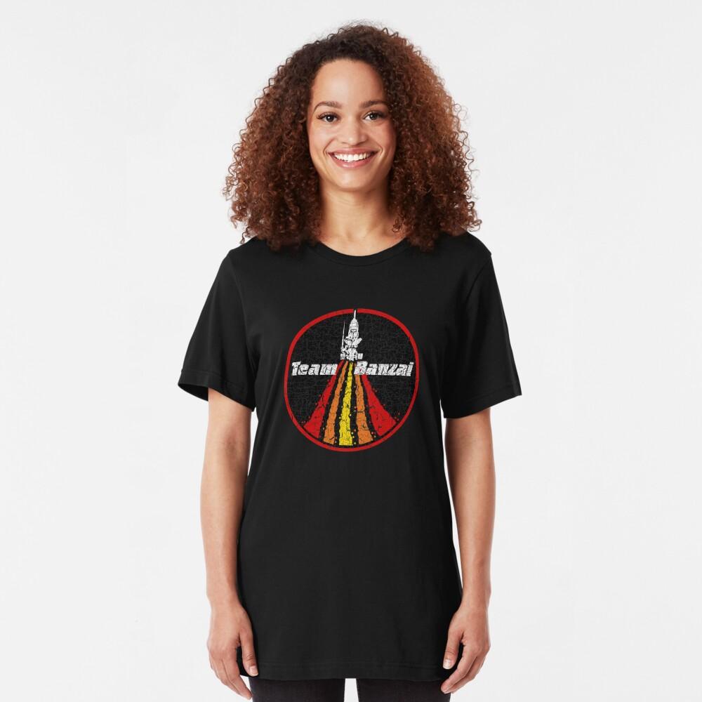 Equipo Banzai Camiseta ajustada
