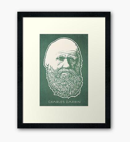 Charles Darwin Framed Print