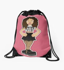 Kiera sticker 004 Drawstring Bag