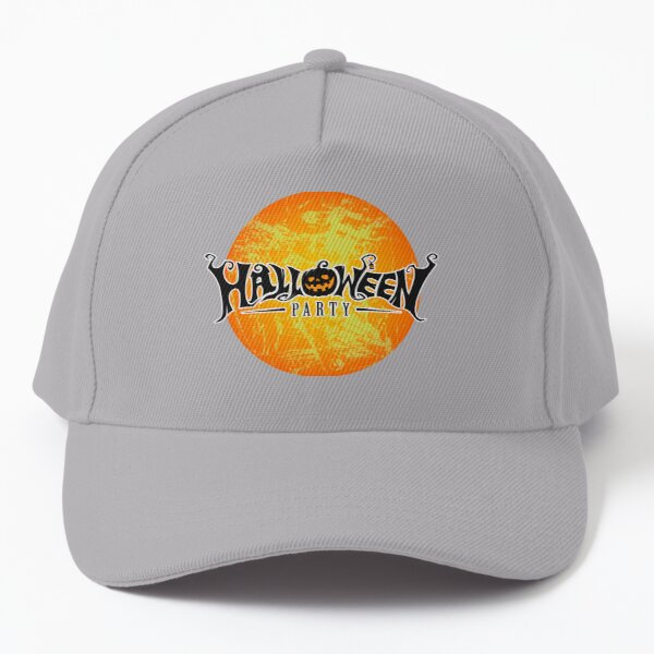 Halloween party Spiders, Ghosts, Pumkin & Witch Baseball Cap