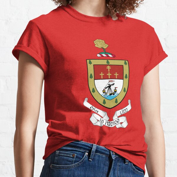 Coat of Arms of County Mayo, Ireland Classic T-Shirt