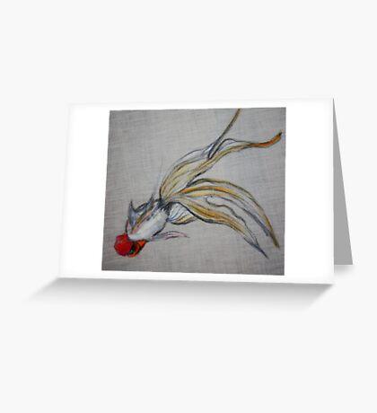 Goldfish Pond (close up #5) Greeting Card