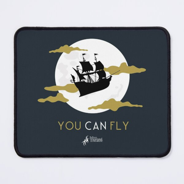 Peter Pan You Can Fly Mouse Pad