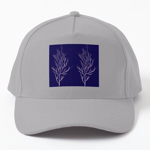 Purple Trees | Beautiful Calming Fractal Design Baseball Cap