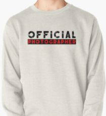 official photographer Pullover