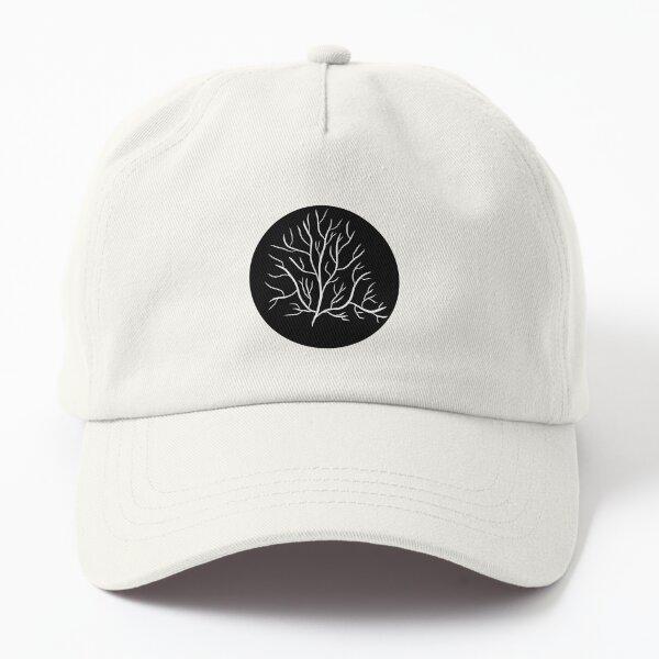 Tree in a Circle | Beautiful Calming Fractal Design Dad Hat