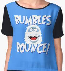 Bumbles Bounce! Chiffon Top