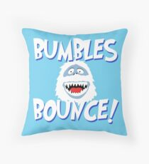 Bumbles Bounce! Throw Pillow