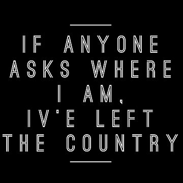 """""""I've Left the Country""""- Stranger Things by theBibliophile"""