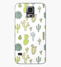 Cacti print Case/Skin for Samsung Galaxy