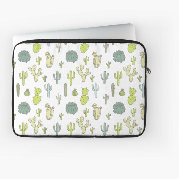 Cacti print Laptop Sleeve