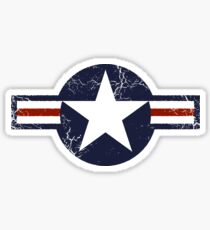 Military Roundels - United States Air Force - USAF Sticker