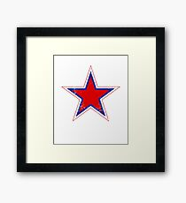 Military Roundels - Russian Air Force Framed Print