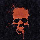 Orange Skull by Scott Mitchell