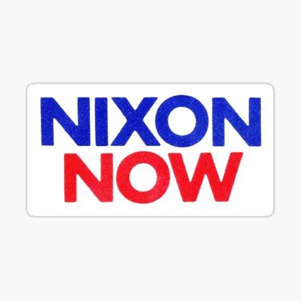 1972 Nixon ahora Pegatina