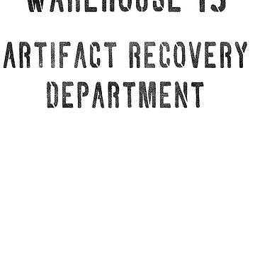 Warehouse Artifact Recovery Department by TheRandomFandom