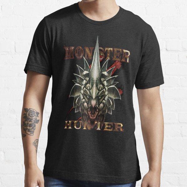 Monster Hunter - Black Essential T-Shirt