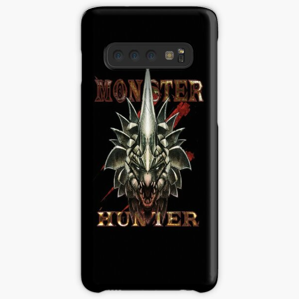 Monster Hunter - Black Samsung Galaxy Snap Case