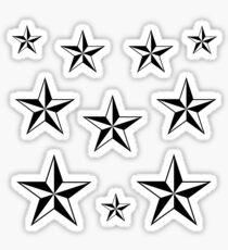 Nautical Star Set Sticker