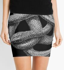 Large Snake Mini Skirt