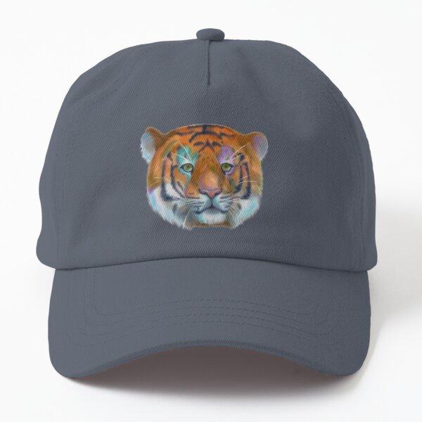 Rainbow tiger Dad Hat