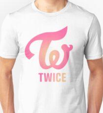TWICE Apricot Neon Magenta Logo T-Shirt