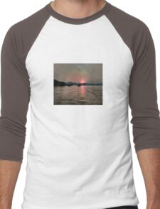 Sunset Shores In Pink And Grey T-Shirt