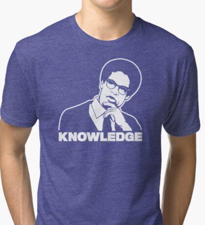 Sowell Knowledge Tri-blend T-Shirt