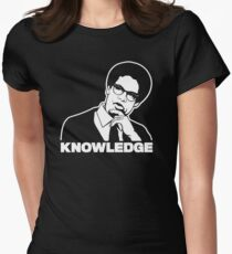 Sowell Knowledge Women's Fitted T-Shirt