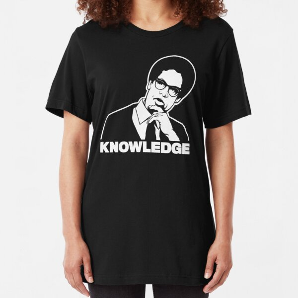 Sowell Knowledge Slim Fit T-Shirt