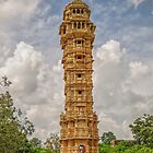 Tower of Victory - Chittorgarh - India by TonyCrehan