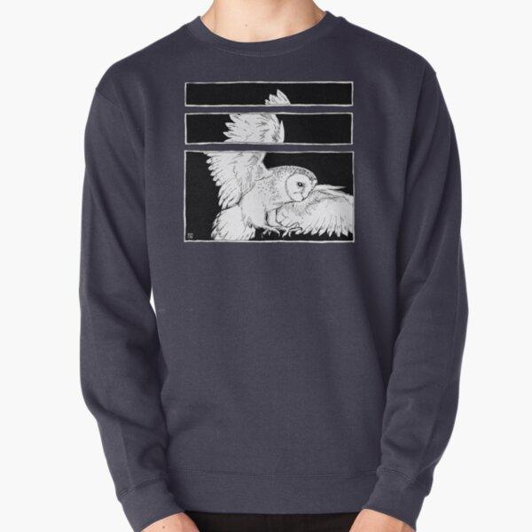 White Owl Pullover Sweatshirt