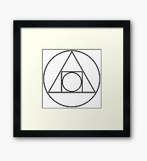 Philosopher's Stone Framed Print