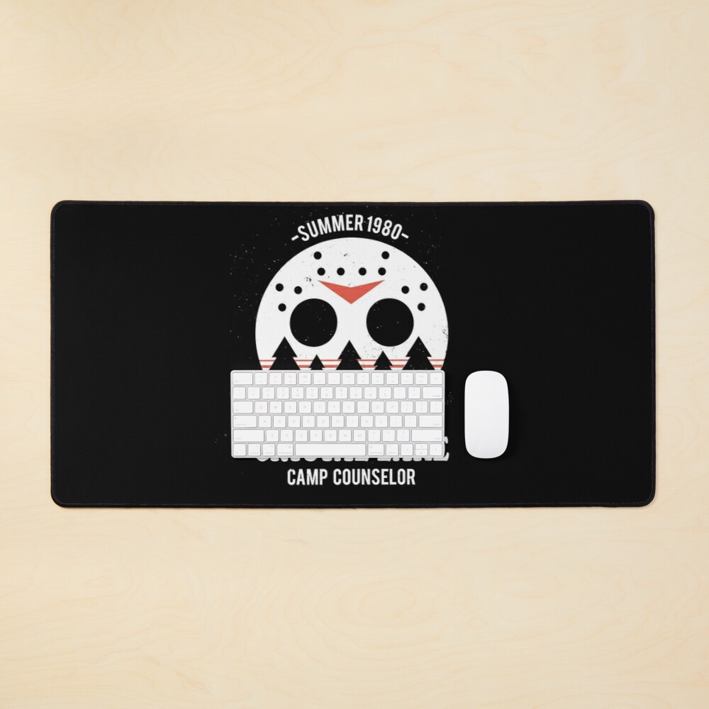 Crystal Lake Camp Counselor Mouse Pad