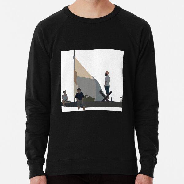 Peanut Butter Falcon Poster Lightweight Sweatshirt