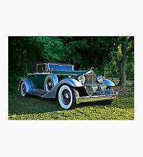 1933 Packard 1006 Convertible 2 Photographic Print