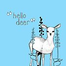 Hello Deer by Lydia Meiying