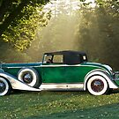 1933 Packard 1006 Convertible 1 by DaveKoontz