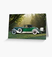 1933 Packard 1006 Convertible 1 Greeting Card