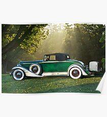1933 Packard 1006 Convertible 1 Poster